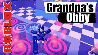 ROBLOX - Obby - Grandpa's House... OOF!!
