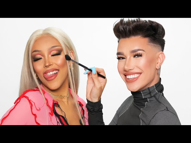 Doing Doja Cat's Makeup!!
