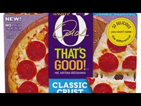 The  Oprah  Pizza VS   DIGIORNO   Pizza   MAM EATING SHOW   Food Review