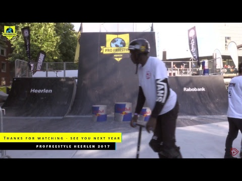 LIVE: MADD Gear Scoot Contest | Pro Freestyle Heerlen-Limburg 2017
