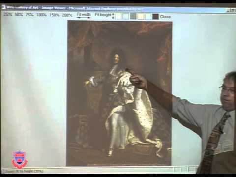 HCIV102 20100611 LECTURE06   Portrait of Louis XIV 1704