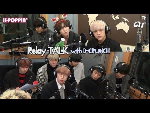[K-Poppin'] D-CRUNCH (디크런치)'s Relay Talk on Arirang Radio!