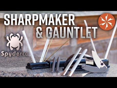 Spyderco Sharpmaker vs Spyderco Gauntlet: Which One Is Best? – KnifeCenter Reviews