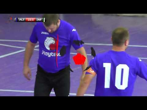Обзор матча #itliga Playtika - Infopulse United (15 сезон, осень 2017 года)