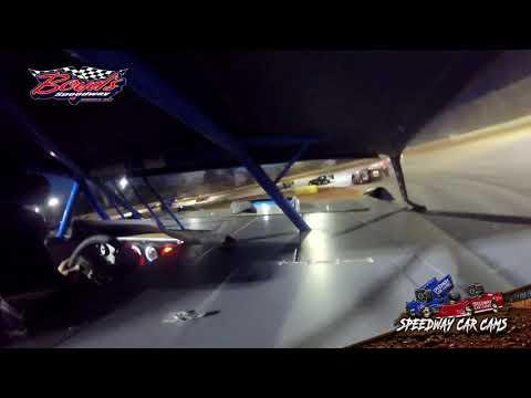 #22 Freddie Smith - Sportsman - Heat & Feature - 2-2-20 Boyds Speedway Cabin Fever - In-Car Cam