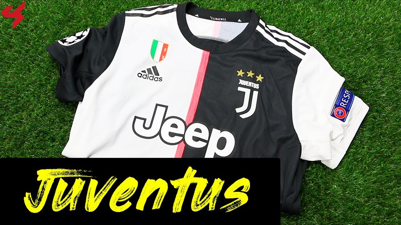 buy popular 96923 95b3a Adidas Juventus Ronaldo 2019/20 Home Jersey Unboxing + Review from Subside  Sports