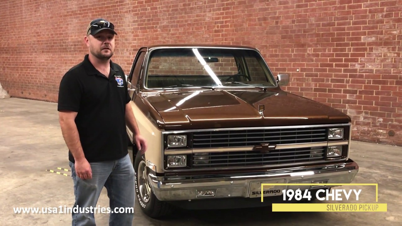 1984 chevy truck body parts