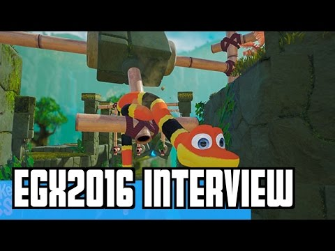 EGX 2016 Snake Pass  Interview / GAMEPLAY