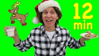 Matt Sings Christmas Songs | We Wish You a Merry Christmas, Finger Family and More