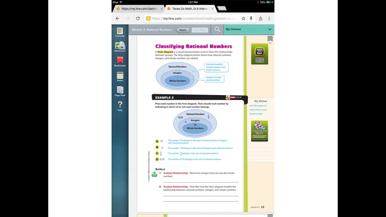 small resolution of 2.1 Classifying Rational Numbers - YouTube