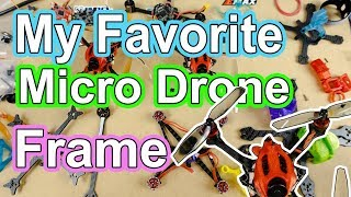 My favorite toothpick style micro drone frame Pickle APIC Racing GnarlyFPV Primo 080X foofighter