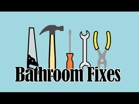 Easy Bathroom Repairs DIY