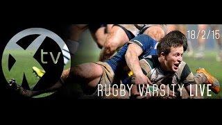 Rugby Varsity 2014/15: Exeter vs Bath. FULL BROADCAST.