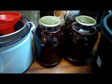 Вишневый сок в домашних условиях на зиму
