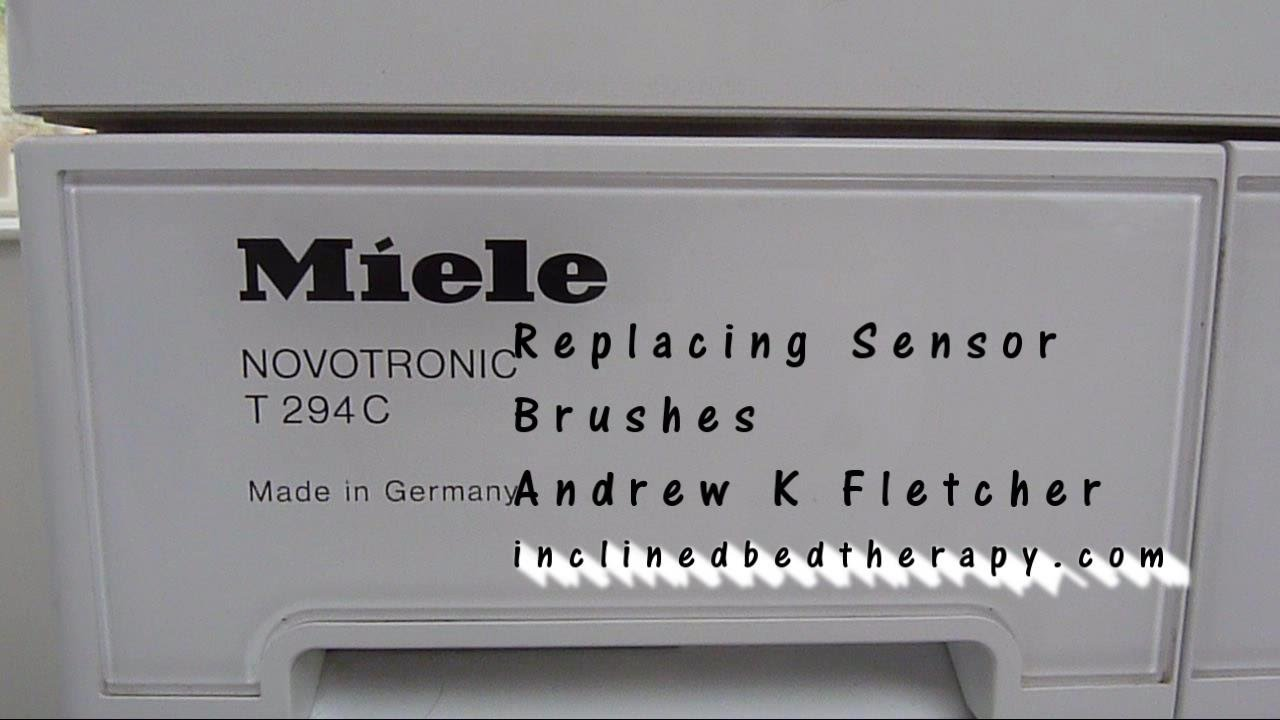 Repair Miele Tumble Dryer Noisy How To Examine Sensor Brushes and