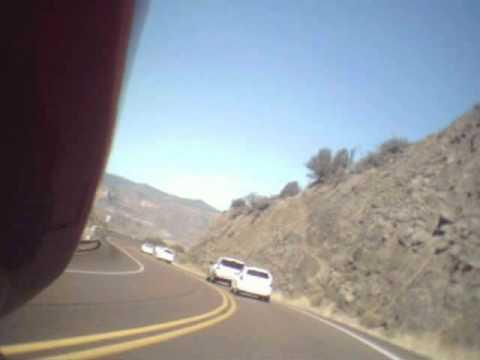 Arizona's Salt River Canyon