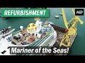 Mariner of the Seas gets a refurbishment in Cadiz