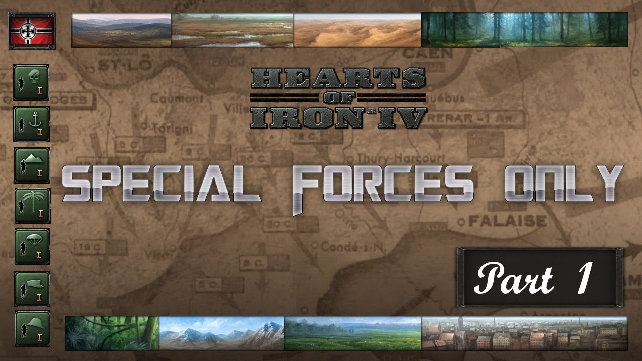 HOI4 - Special Forces Only! - Germany - Part 1