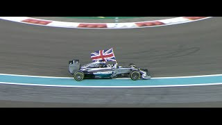 2014 FORMULA 1 ETIHAD AIRWAYS ABU DHABI GRAND PRIX - Race Highlights