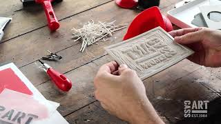 How to with Cass Art: Lino Printing