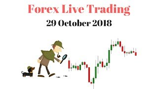 Forex Live Trading with Real Money - Live Trades on M5 - M15