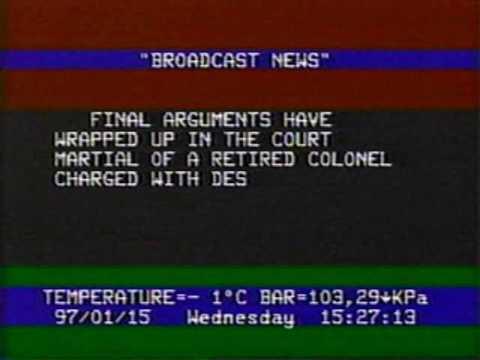 Broadcast News clip January 15 1997