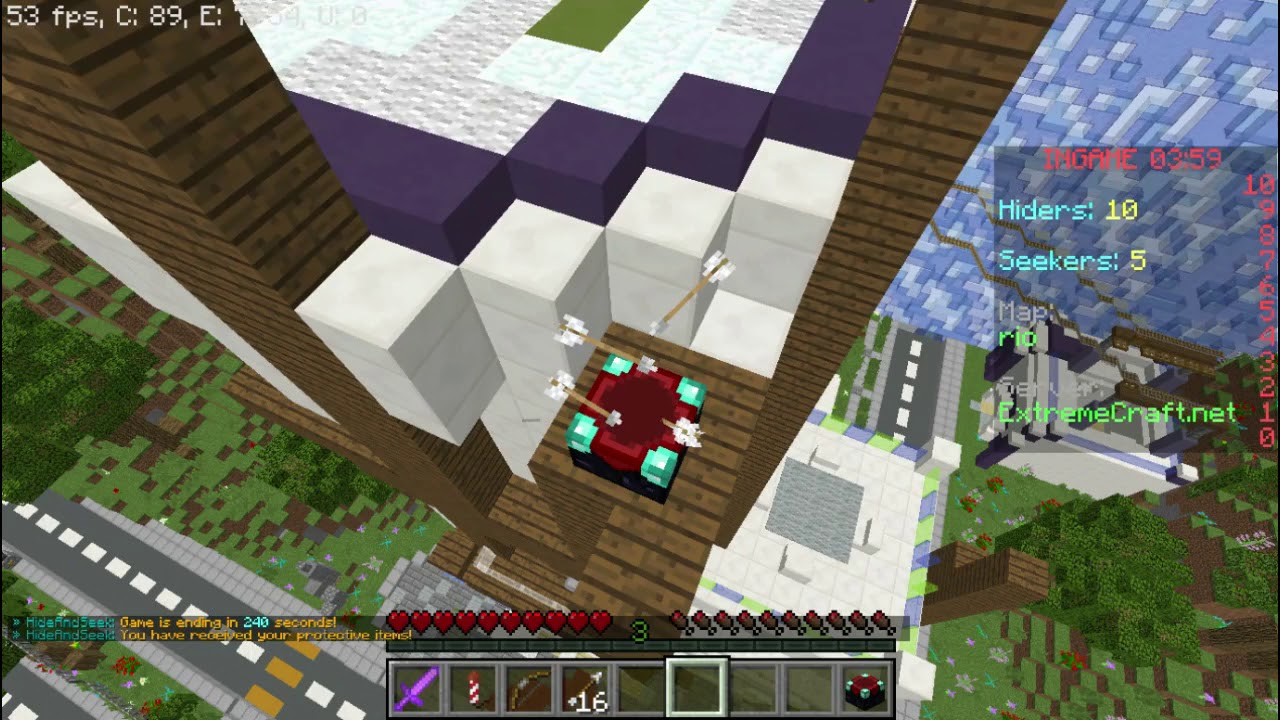 Minecraft Cracked Server ExtremeCraft Hide And Seek YouTube