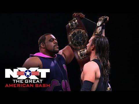 Adam Cole vs. Keith Lee – Winner Take All Championship Match: NXT Great American Bash, July 8, 2020
