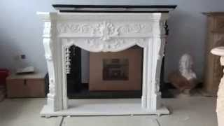 Custom Marble Fireplace Mantels