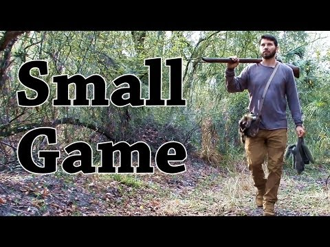 Hunting Small Game. Primitive Archery & Flintlock Hunting For Squirrels And Rabbits