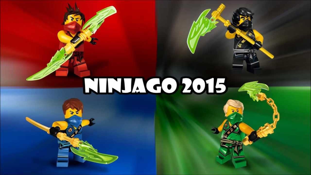 Lego Ninjago  Ninjago 2015 Wave 1 Sets  YouTube