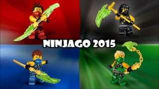 Lego Ninjago - Ninjago 2015 Wave 1 Sets