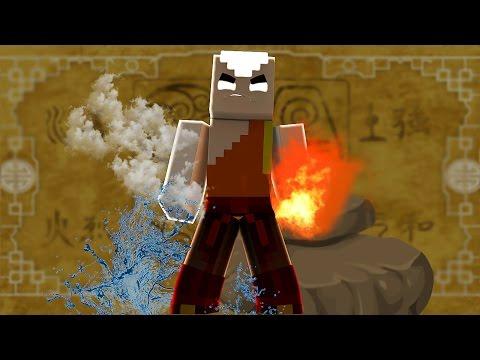 Minecraft: CAMINHO DA SORTE - AVATAR A LENDA DE AANG // FRANGO