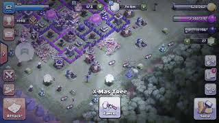 what happens when you destroy the xmas tree in clash of clans(1000000 GOLD OMG)