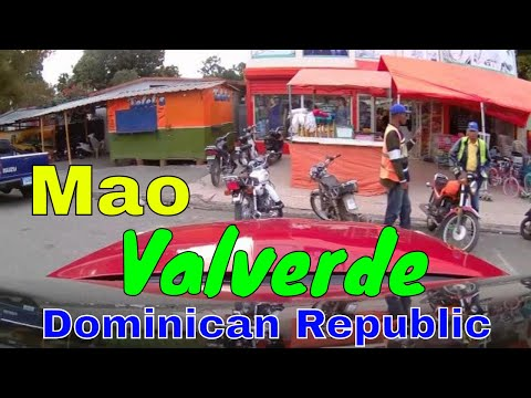 Driving downtown - Mao, Valverde -  Dominican Republic