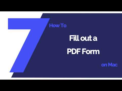 How to Fill out PDF Forms with Preview on Mac | Wondershare PDFelement