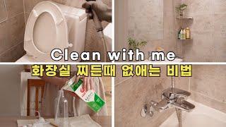욕실 청소 쉽게 하는 법 / 욕실청소도구 추천 / 다이…
