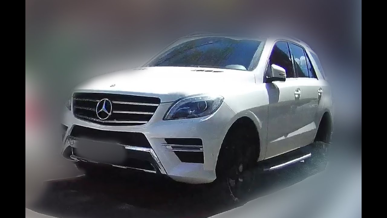Brand New 2017 Mercedes Benz M Cl 4dr Ml63 Amg Model Production
