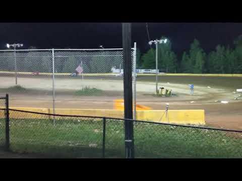 Hamlin Speedway Supers Feature 6/15/2019