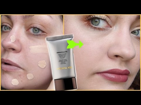 Let's Test!: Hourglass Immaculate Liquid Powder Foundation Mattifying Oil Free