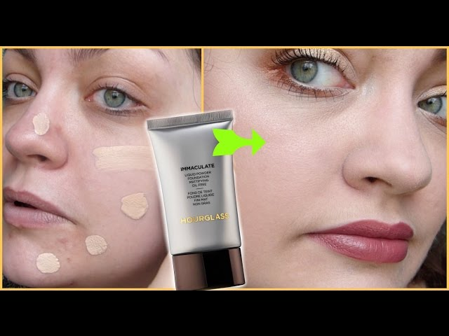 Lets Test!: Hourglass Immaculate Liquid Powder Foundation Mattifying Oil Free