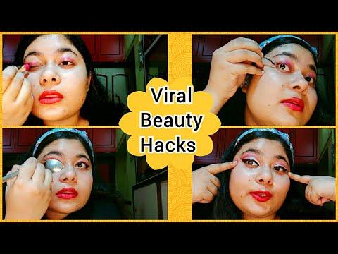 Viral Beauty Hacks💋💄 Bengali Makeup (পার্টি মেকআপ) Tutorial 2020