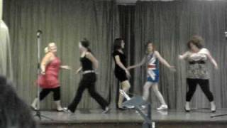 Spice Girls Wannabe re-inactment. Downside Primary School Dunstable
