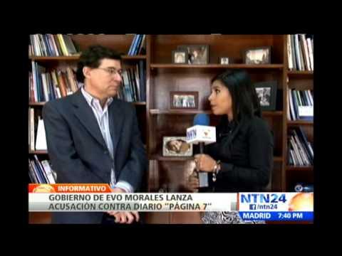 Gobierno de Bolivia acusa a diario de favorecer intereses chilenos