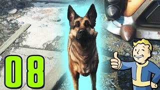 Fallout 4 Walkthrough Gameplay Part 8 - EVERYONE, MEET DOG (PC)
