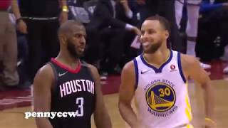 Chris Paul SWEET REVENGE on Stephen Curry !!! Crossover & Shimmy Shake