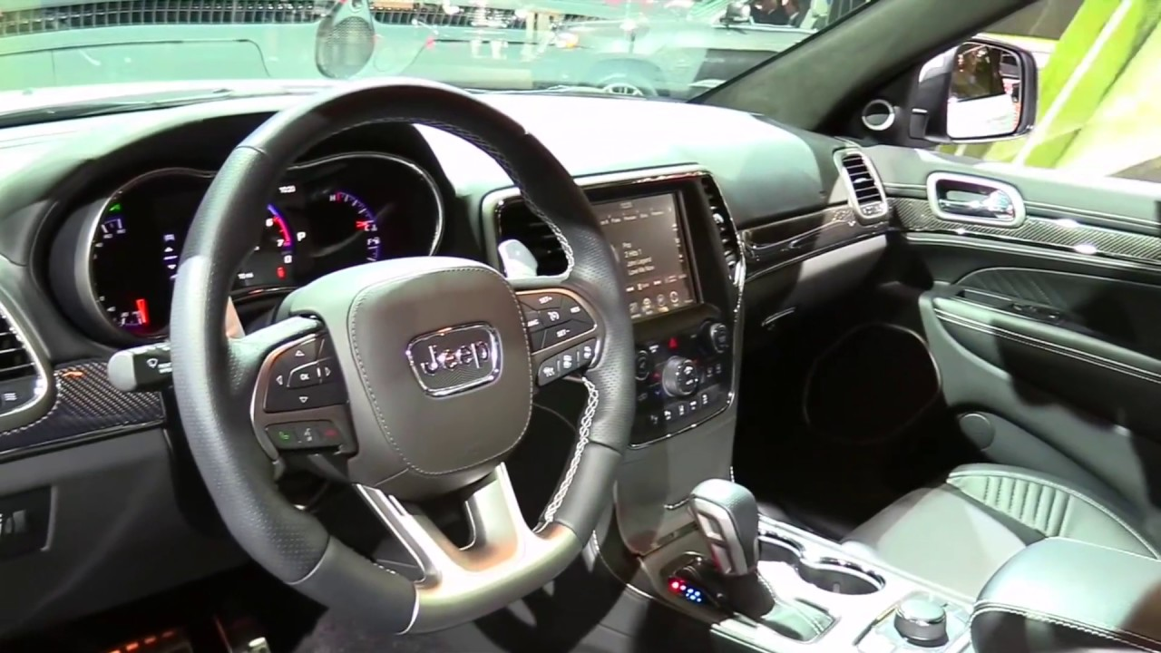 2017 Grand Cherokee Srt Interior >> 2017 Jeep Grand Cherokee Srt Limited White Luxury Features