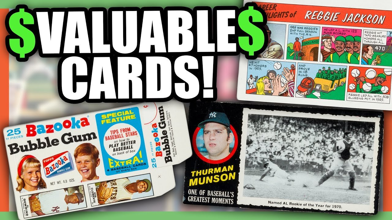 Very Valuable Baseball Cards Rare Baseball Cards Worth Money