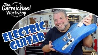 Making An Electric Guitar With The Inventables X-carve Cnc Machine