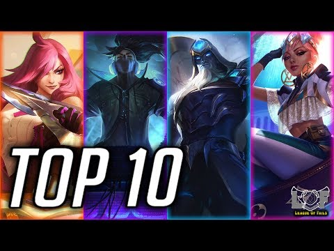 Top 10 Best MID Laner Champions Preseason 2020 - League Of Legends | LoL Perfect Mid Montage